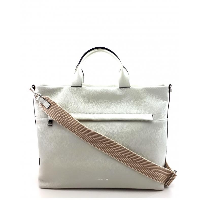 Comprar Dimoni Bolsa de couro branco -36 x 29 x 15 cm