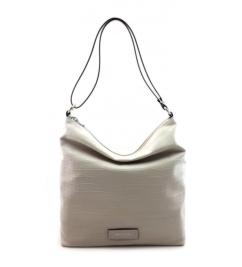 Comprar Dimoni White leather bag -31 x 32 x 32 x 12 cm