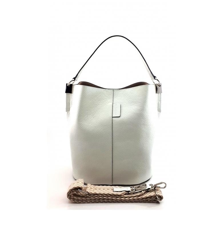 Comprar Dimoni Leather handbag white AE110PAOFWH -26x28x16cm