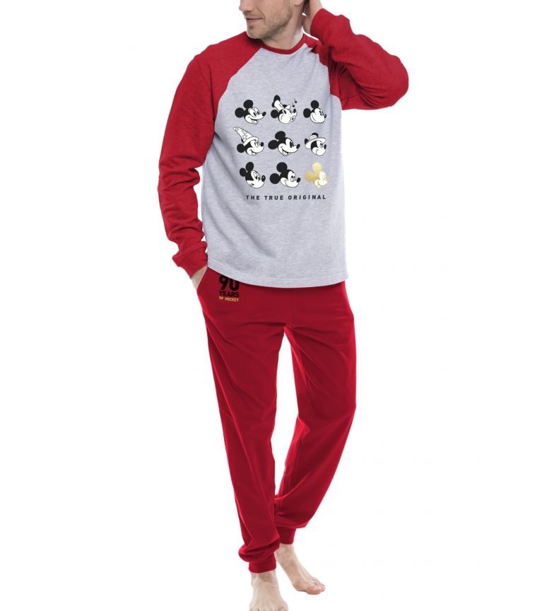 Comprar Disney Pajamas Long Sleeve Mickey Caritas Red