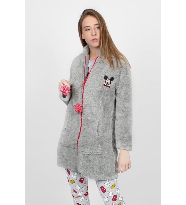 Comprar Disney Mickey Icon Gray Long Sleeve Warm Gown