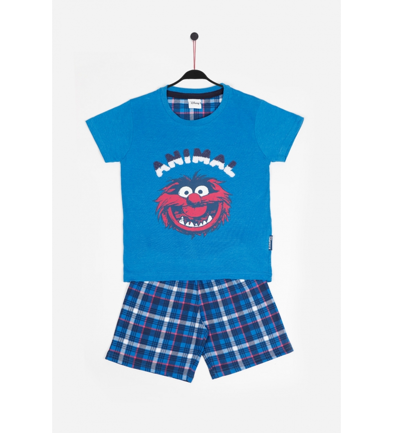 Comprar Disney & Friends Animal Day Short Sleeve Pajamas blue