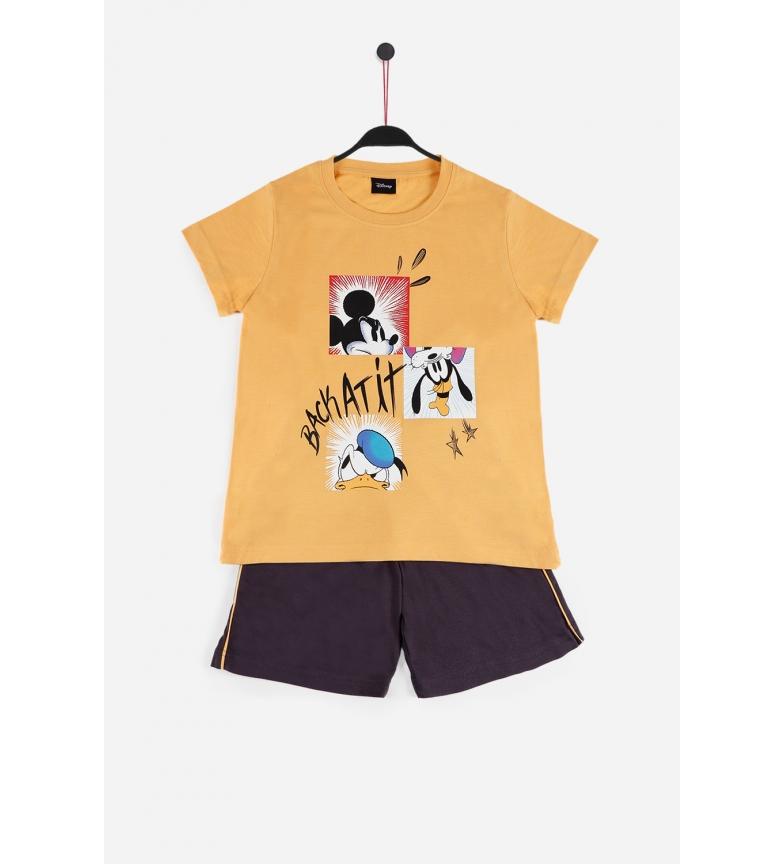 Comprar Disney  Pajama Short Sleeve Back At It ochre