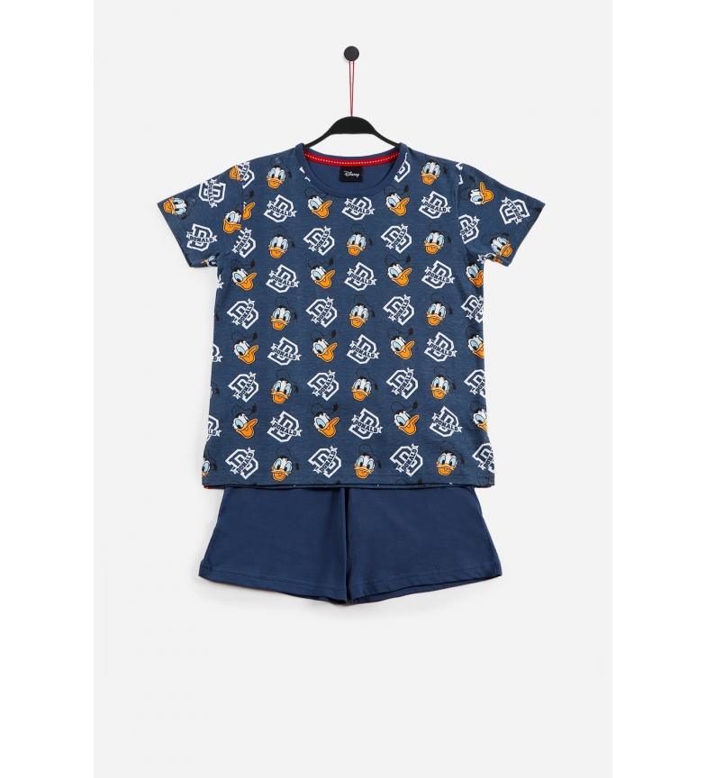 Comprar Disney Pyjama à manches courtes Donald Navy
