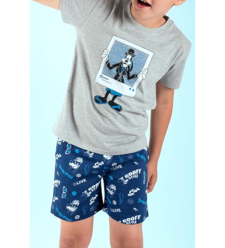 Comprar Disney Pijama Manga Corta Goofy Style gris