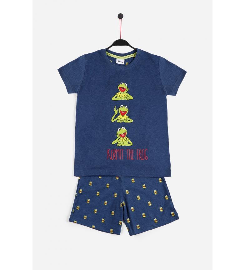 Comprar Disney Kermit The Frog Blue Short Sleeve Pyjamas