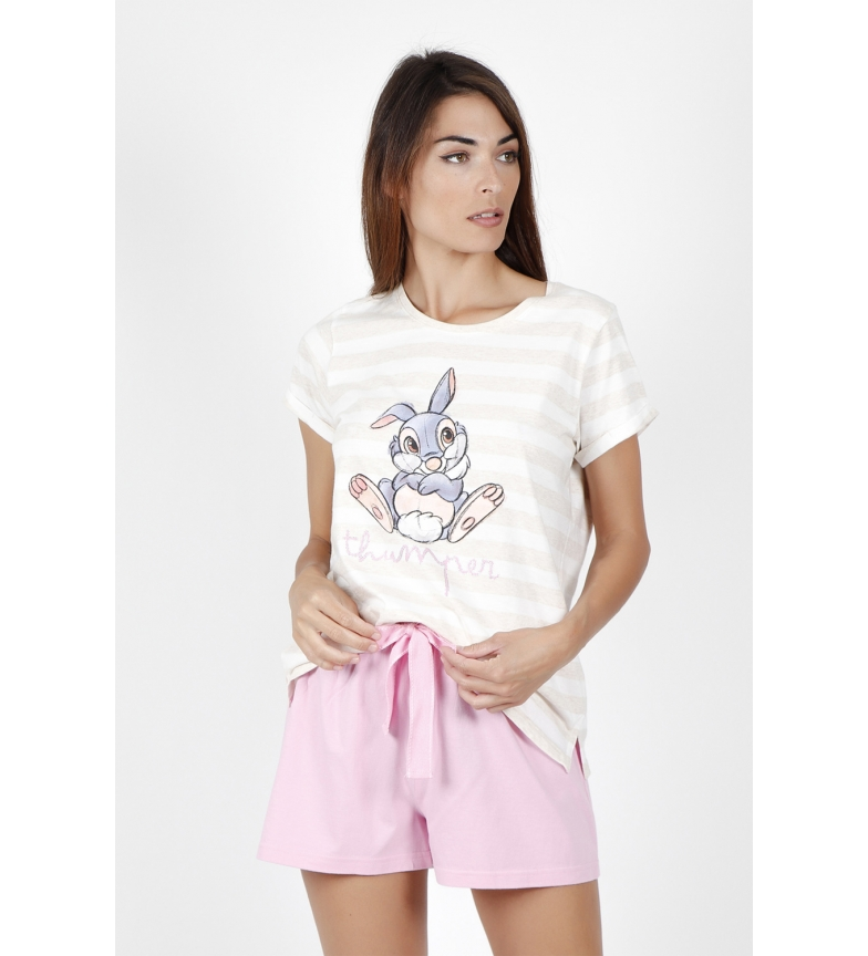 Comprar Disney Pajamas Short Sleeve Thumper beige
