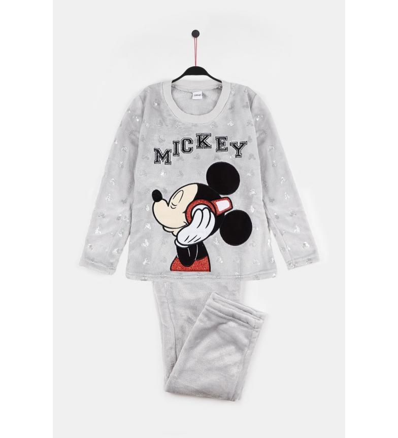 Comprar Disney & Friends Pyjamas à manches longues Gris musique Mickey