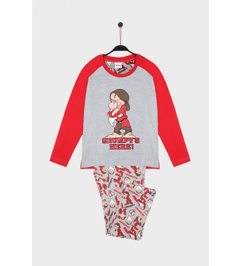 Comprar Disney Grumpy grey long-sleeved pyjamas