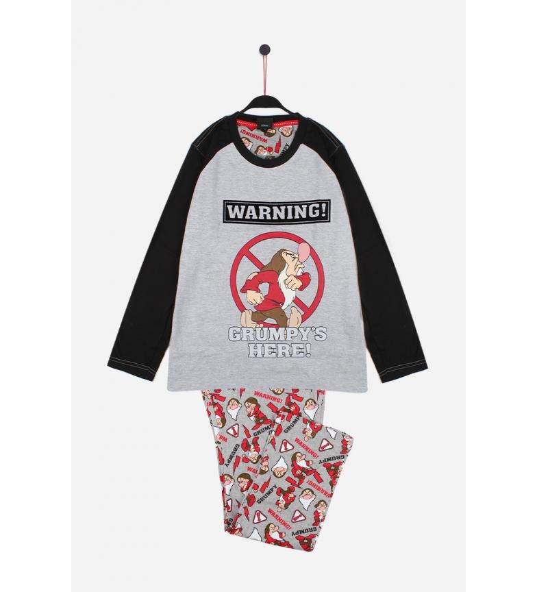 Comprar Disney Pijama de manga comprida cinzento mal-humorado