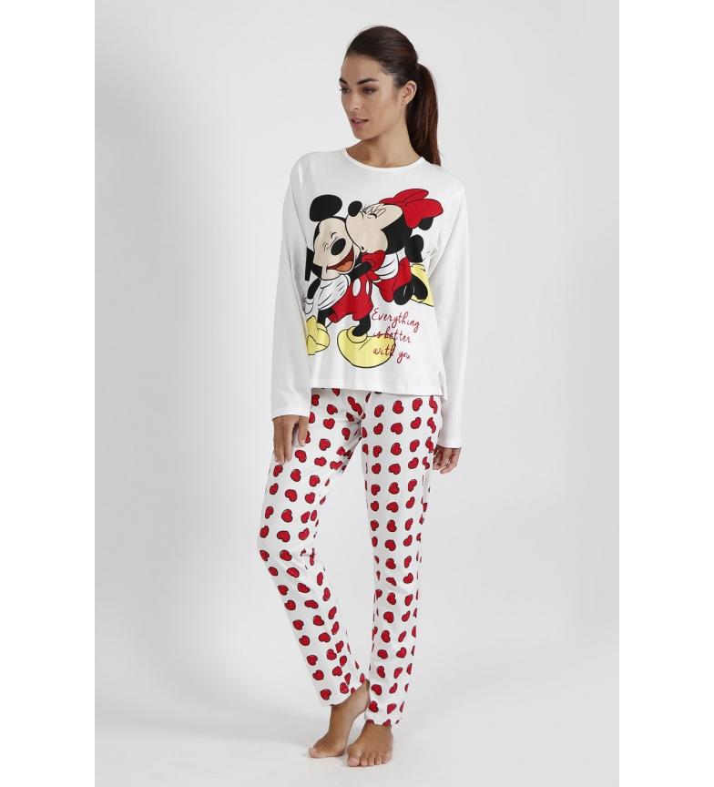 Comprar Disney Love Mouse Long Sleeve Pyjamas ecru, red