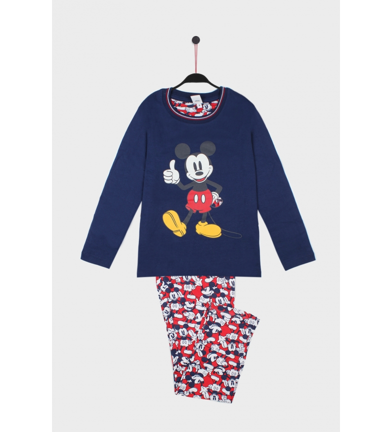 Comprar Disney Pijama Manga Larga Mickey Alright marino