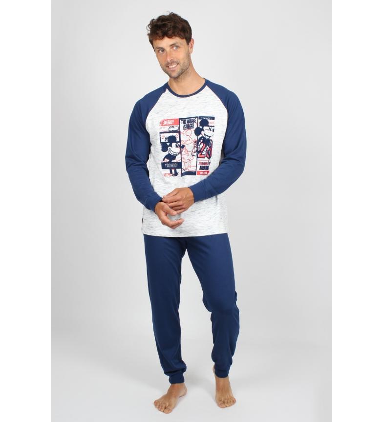 Comprar Disney Pyjama à manches longues Mickey est de retour marine