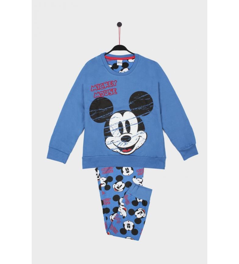 Comprar Disney Pijama Manga Larga Mickey Street azul