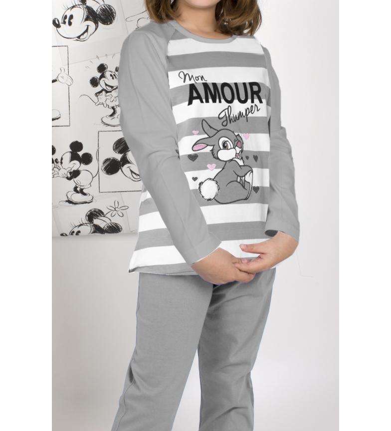 Comprar Disney Pijama Manga Larga Thumper gris