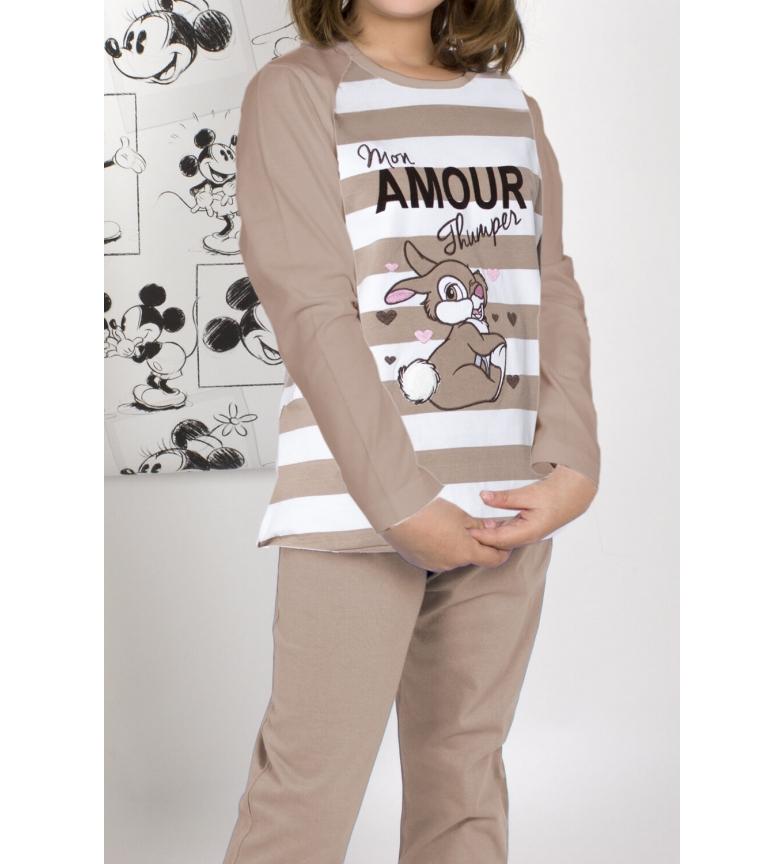 Comprar Disney Long Sleeve Pajamas Thumper camel