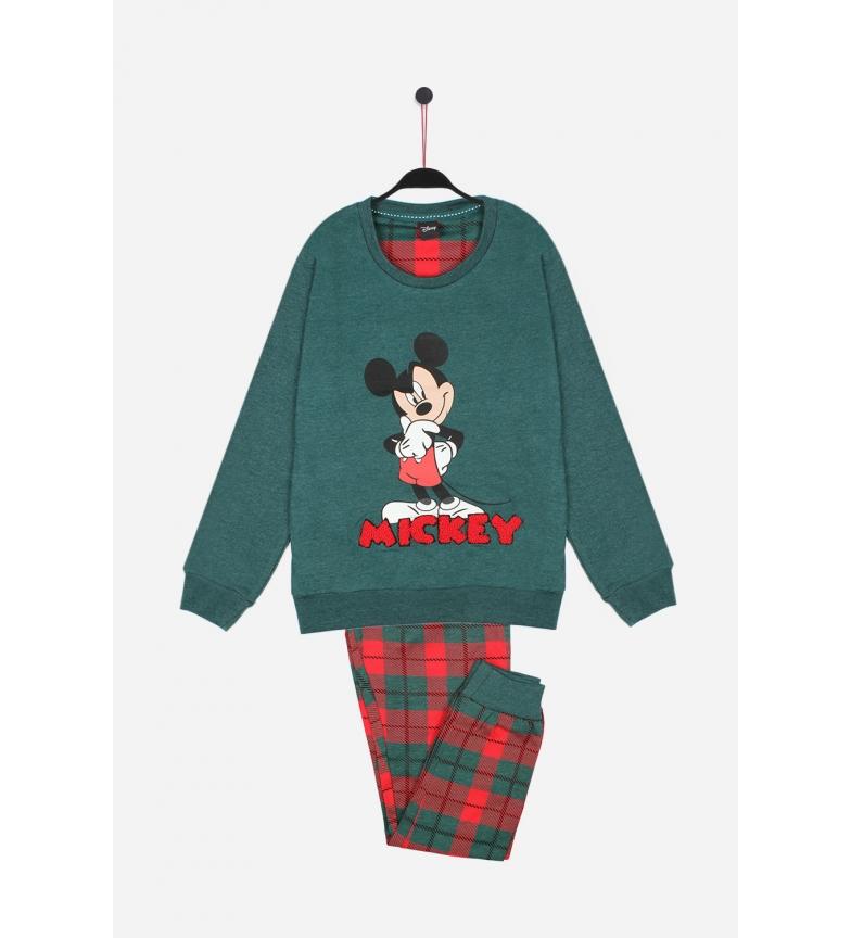 Comprar Disney Pijama Manga Larga Winter Mouse verde