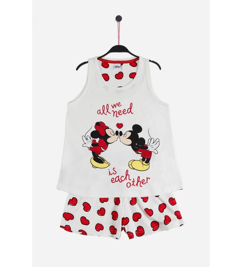 Comprar Disney Pyjama à bretelles Love Mouse écru