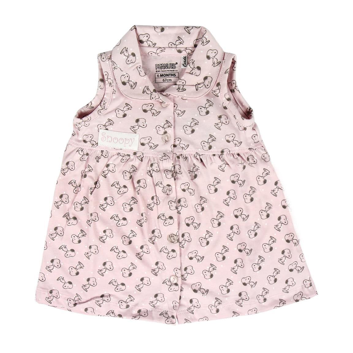 Comprar Disney & Friends Vestido Single Jersey Snoopy