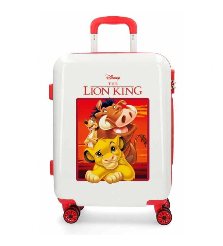 Comprar Disney & Friends Maleta de cabina rígida El Rey Leon roja -34x55x20cm-