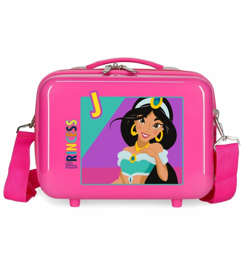 Comprar Disney & Friends Neceser adaptable a trolley Jasmin fucsia -29x21x15cm-