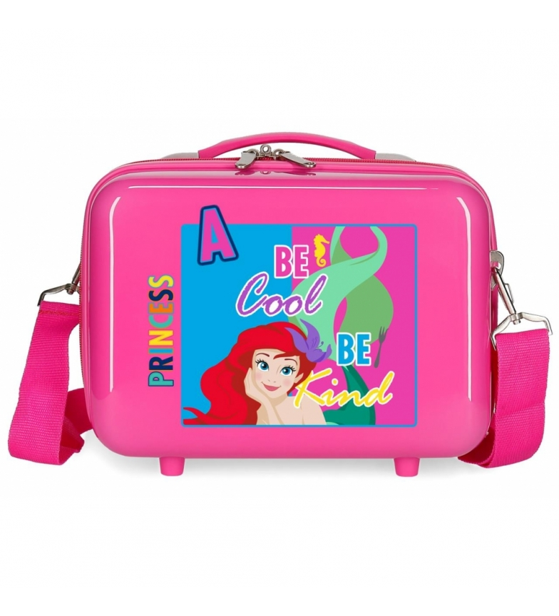 Comprar Disney & Friends Neceser adaptable a trolley Sirenita fucsia -29x21x15cm-