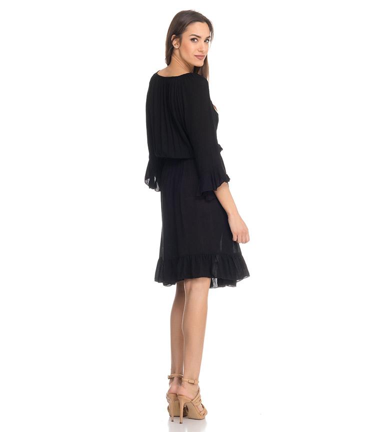 Divine Vestido Kiran negro