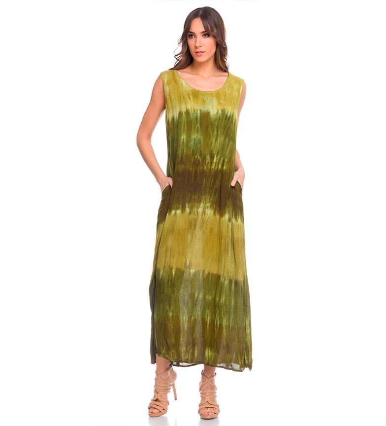 rabatt komfortabel rabatt virkelig Indra Guddommelig Grønn Kjole klaring finner stor rabatt engros-pris saJPRAL
