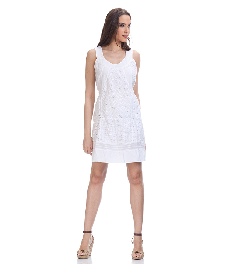 Divine Vestido Rohana blanco