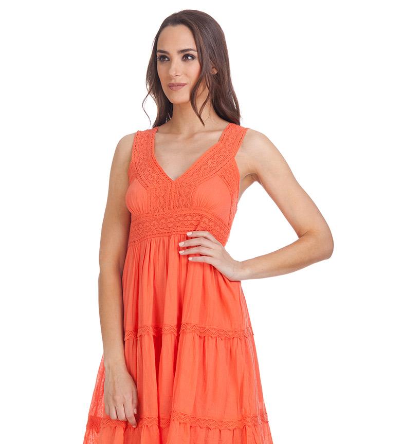 Divine Vestido Trisha naranja