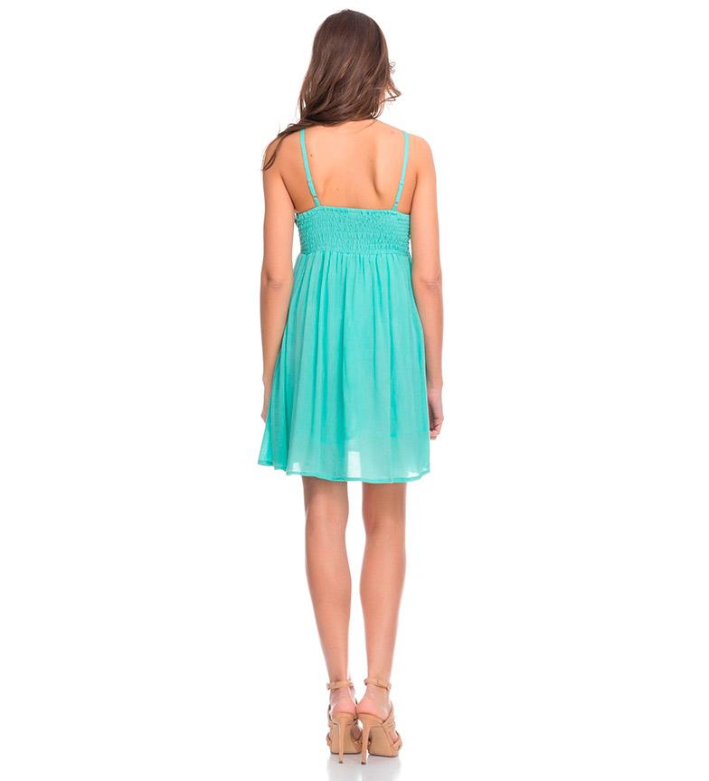 Divine Vestido Uma verde