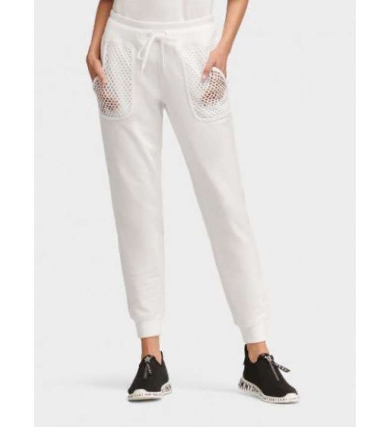 Comprar DKNY Pantalones DKNY blanco