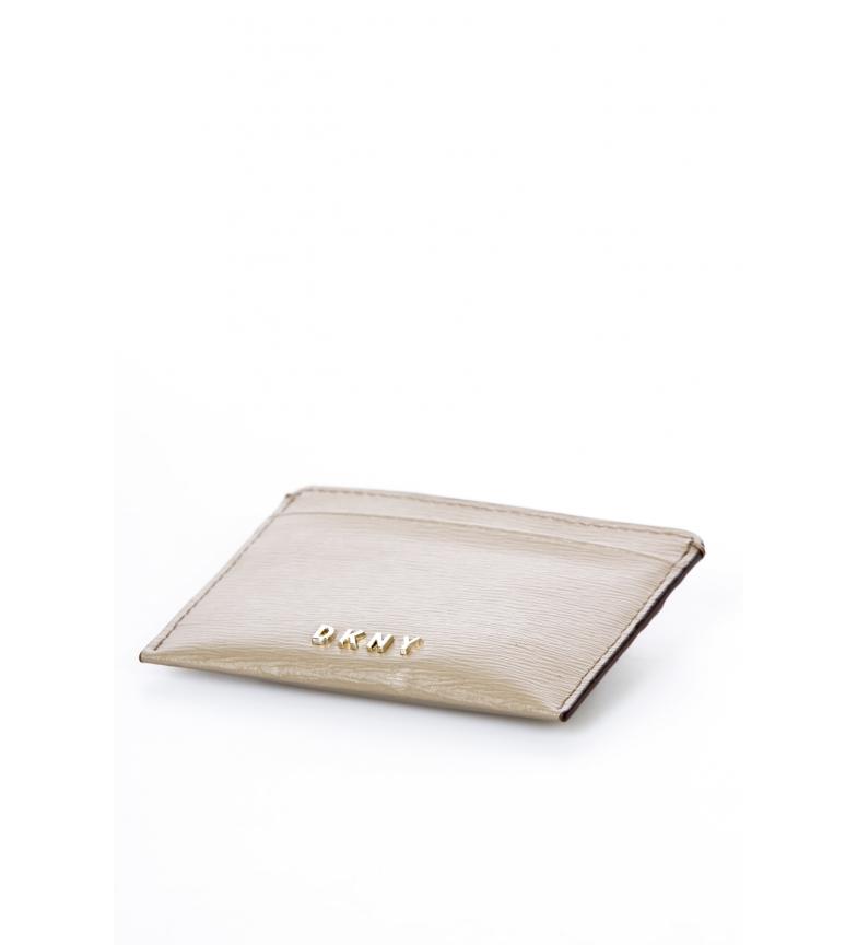 Comprar DKNY Leather card holder R92Z3C09 brown -10x7,5x0,5cm