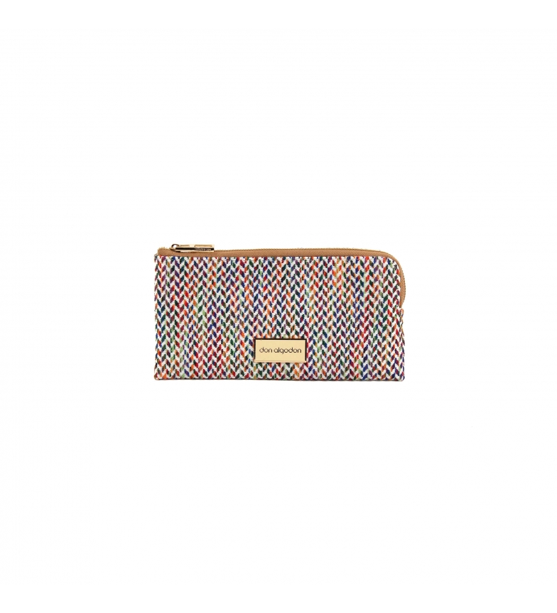 Comprar don algodon Portafoglio arcobaleno multicolore portafoglio -21x12x3 cm-