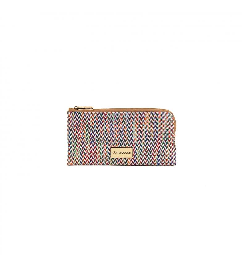 Comprar don algodon Rainbow wallet multicolor -21x12x3 cm