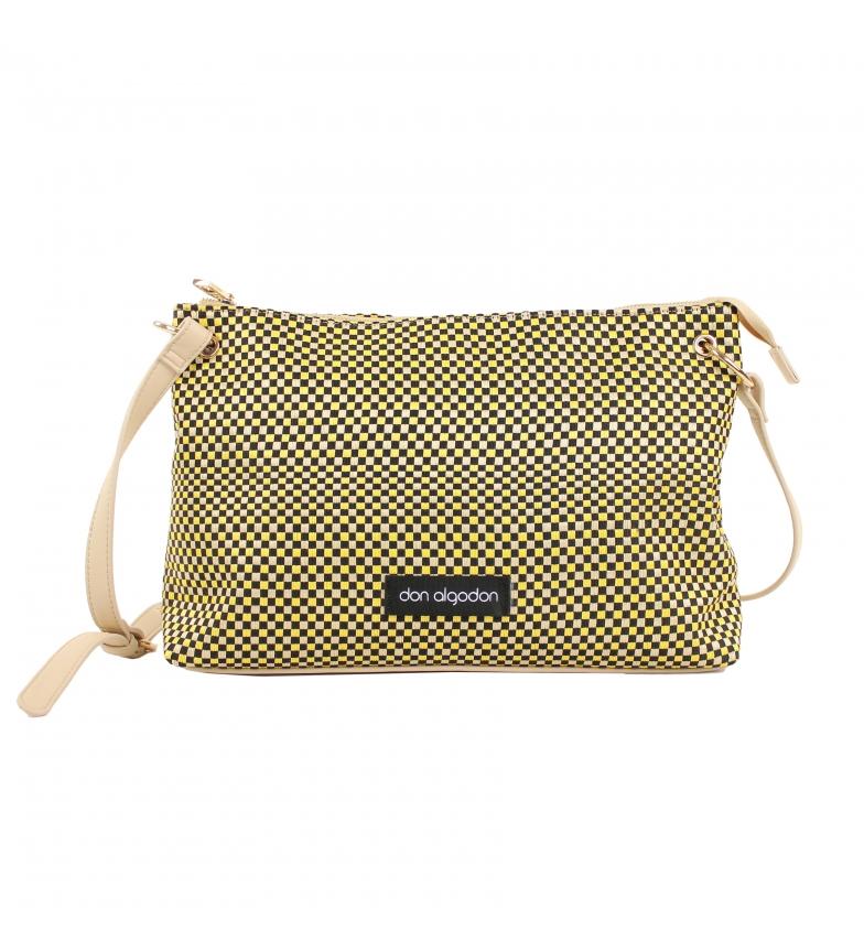 Comprar don algodon XL Shoulder Bag Multicoloured Checkerboard -38x22x15 cm