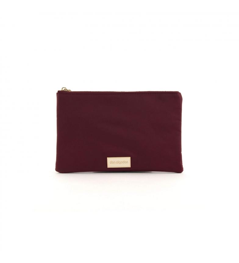 Comprar don algodon Nylon burgundy handbag -24.5x16 cm