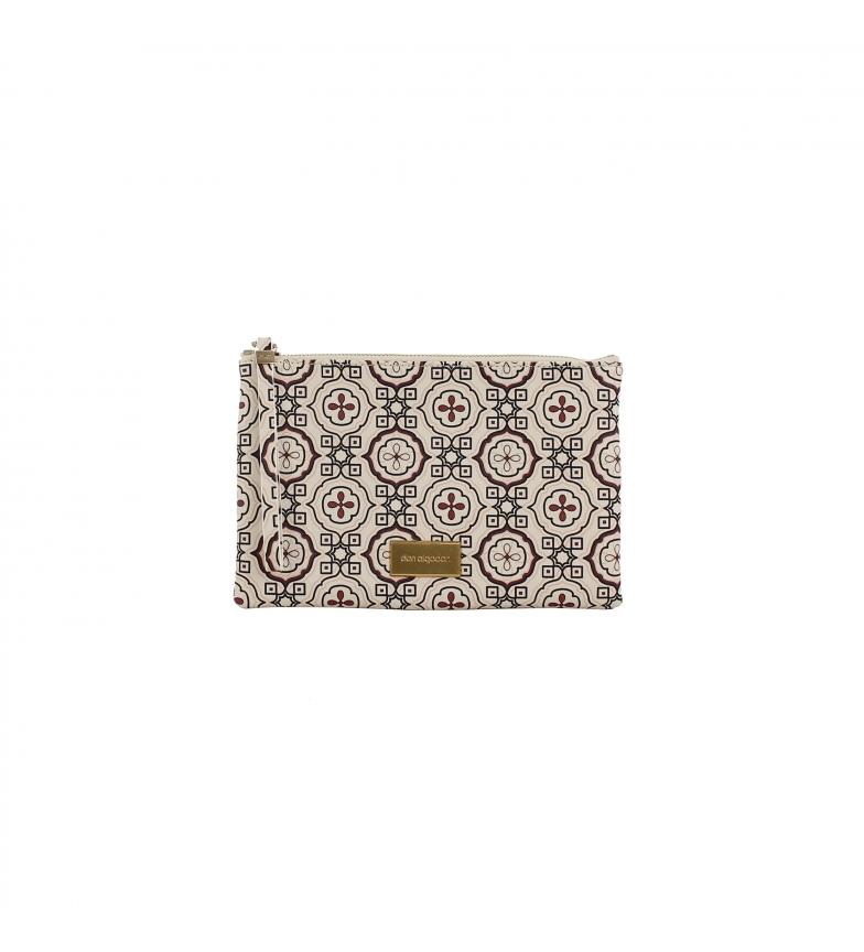 Comprar don algodon Multicoloured Geometric wallet type handbag -24.5x16 cm