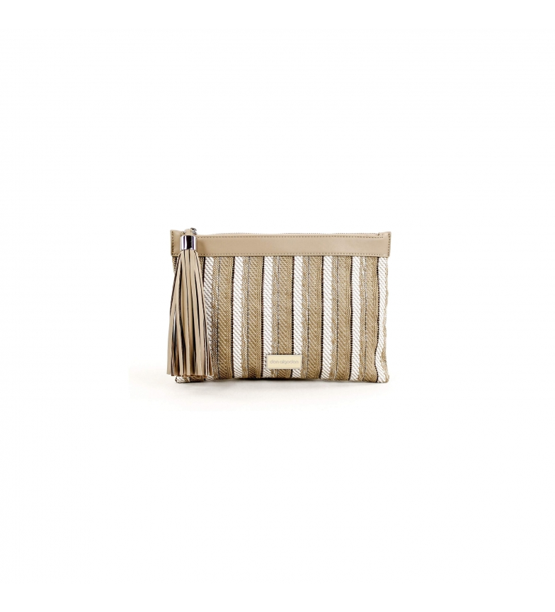 Comprar don algodon Handbag Stripes multicolor -28x19 cm