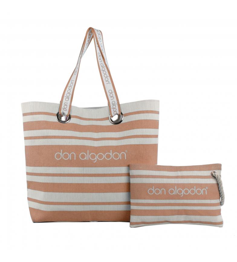 Comprar don algodon Orange Beach Edition carrycot and bag -38x49x16.5 cm