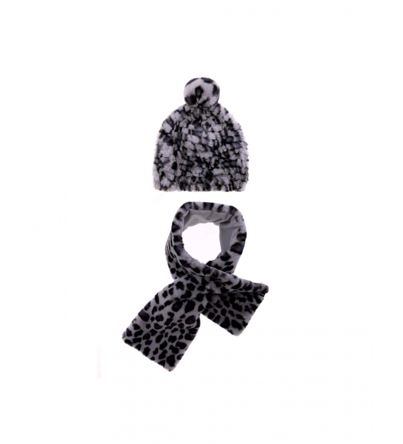 Comprar don algodon Pack hat and scarf Matsi animal print