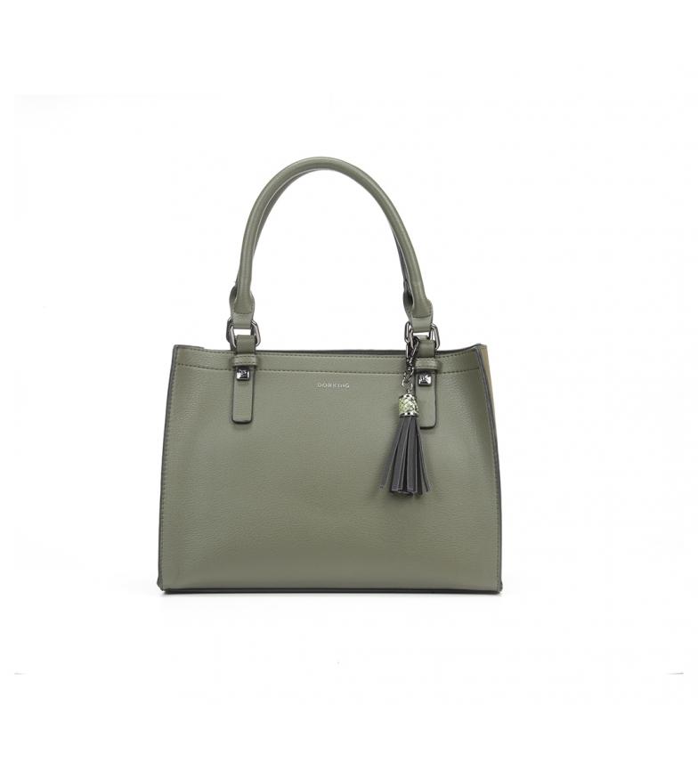 Comprar Dorking Leather bag Bo1001 green -31x23x13cm