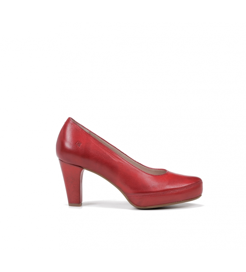 Comprar Dorking Scarpe in pelle Blesa D5794 rosso zucchero - Altezza tacco: 8 cm