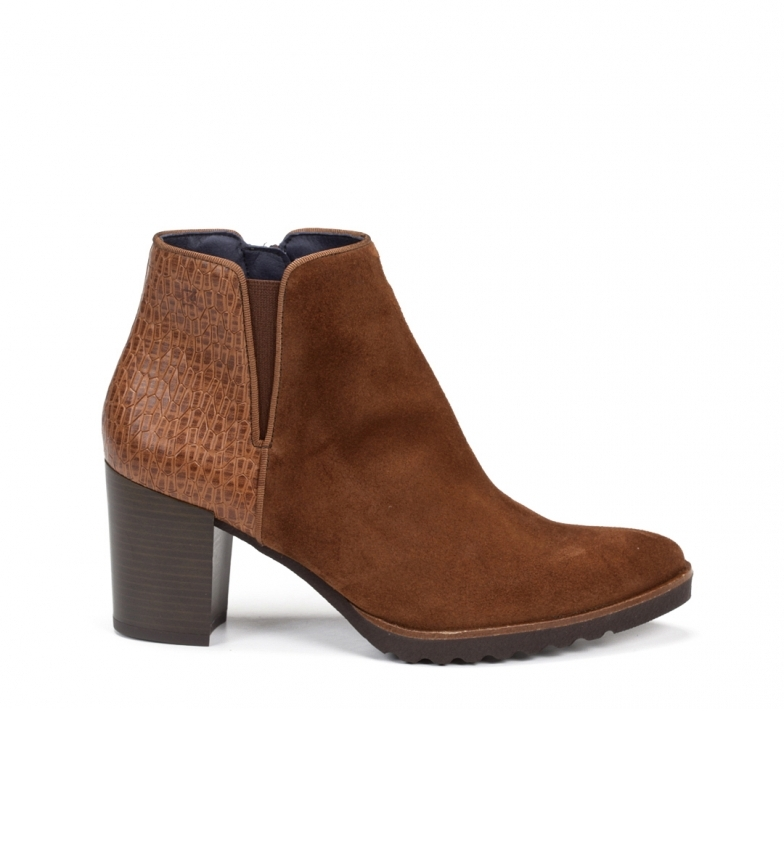 Comprar Dorking Leather ankle boots D7224 leather -Height heel: 7 cm