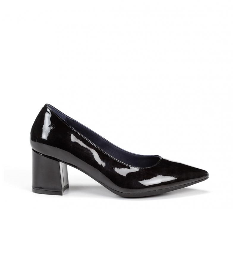 Comprar Dorking Sapatos de couro Sofi D7720 Glos preto -Altura do calcanhar: 5,5 cm