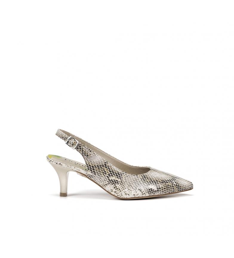 Comprar Dorking Zapatos de piel D7814 safari beige -Altura tacón: 6 cm-