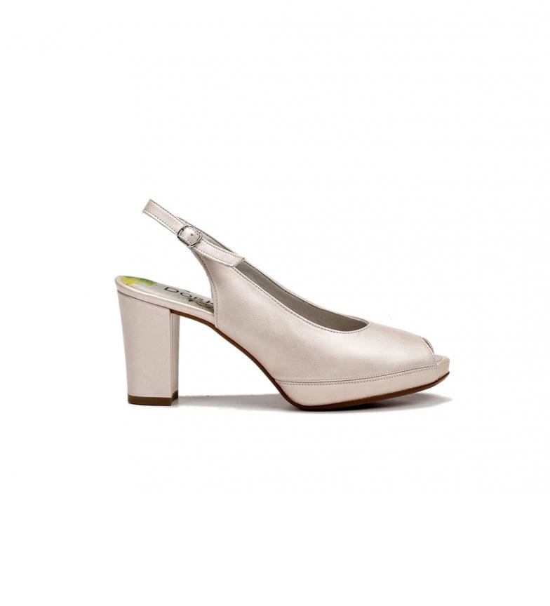 Comprar Dorking Bliss D7830 scarpe nude in pelle - Altezza tacco: 8 cm