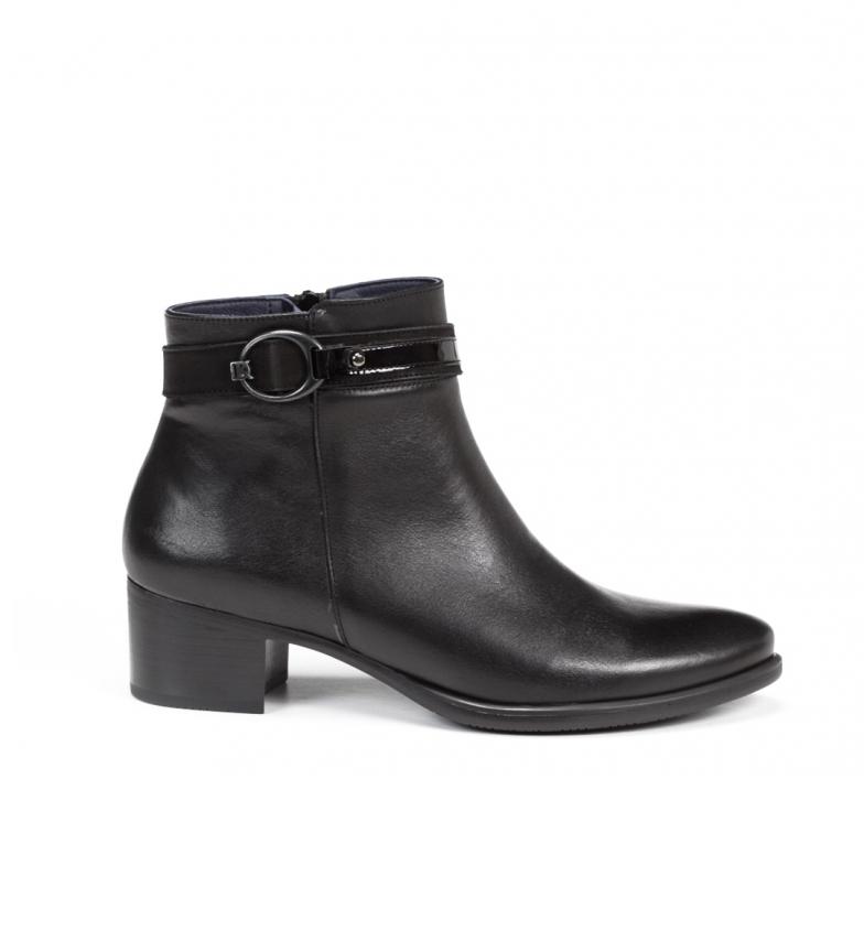 Comprar Dorking Alegria D7952 black leather ankle boots -Heel height: 4,5 cm