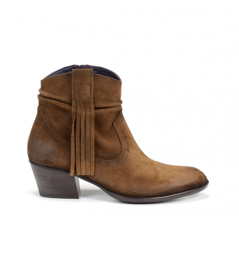 Comprar Dorking Brown leather ankle boots D8019
