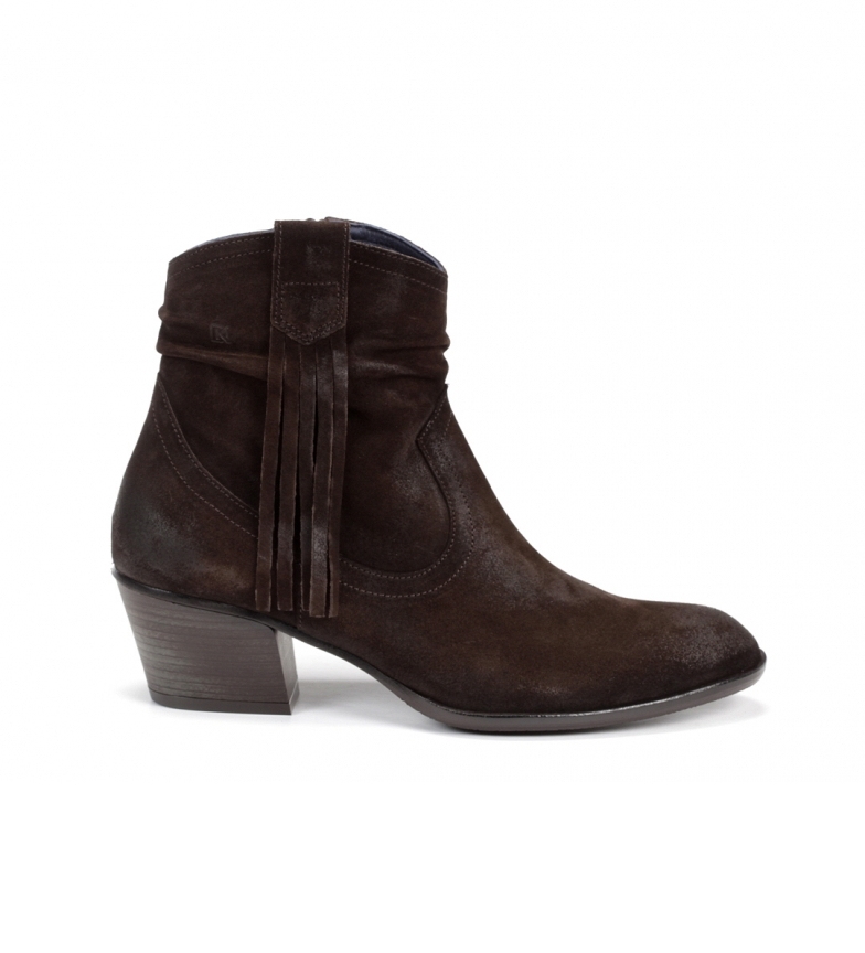 Comprar Dorking D8019 Ebony brown leather ankle boots